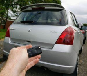 Suzuki swift spare key