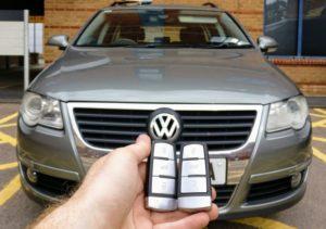 VW Passat spare key