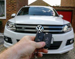 VW Tiguan spare key