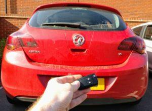 Vauxhall Astra J all keys lost. new 2 button key cut and programmed.