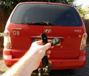 Hyundai Trajet spare remote