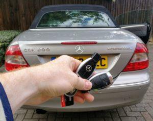 Mercedes CLK 200 spare key