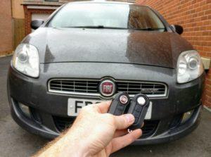 Fiat Bravo 2009 new 3 button key cut and programmed