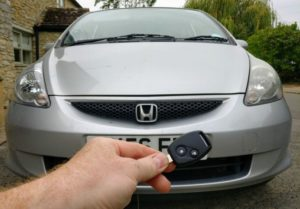 Honda jazz all keys lost. After read the ignition lock and cut the key the immobiliser programmed via OBD.