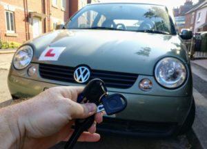 VW Lupo new transponder key cut and programmed