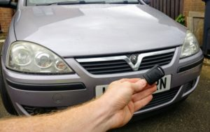 Vauxhall Corsa C new 2 button key cut and programmed