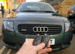 Audi TT 3 button key done