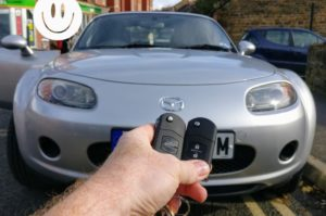 Mazda MX5 new key done for spare