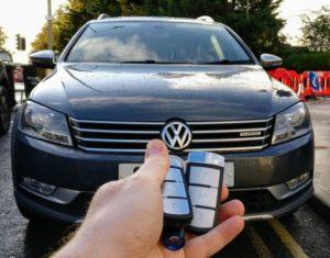 VW Passat B7 new key programmed for spare