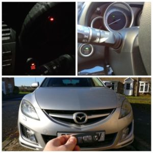 Mazda 6 smart key system issue. Red key icon on the dash and red light on the start button. after fix the system the car start fine.