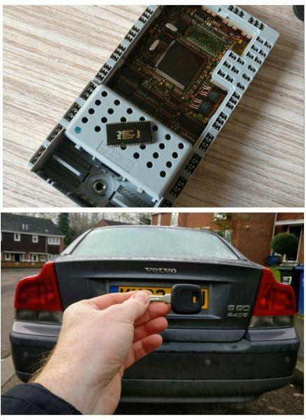 Volvo S60 2003 lost all keys. New key cut and programmed