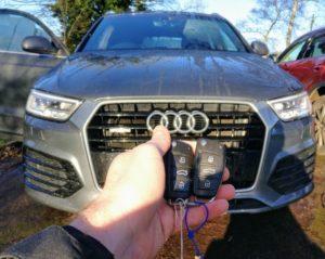 Audi Q3 2016 spare key