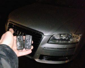 Audi S8 spare key.