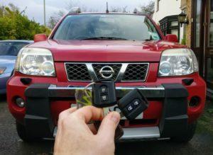 Nissan X-trail spare key.