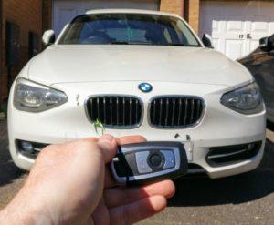 BMW 1 Series 2014 Lost all keys. new smart key programmed