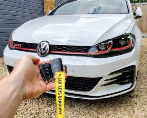 Vw Golf 2019 with virtual dashboard. New proximity key programmed for spare key.