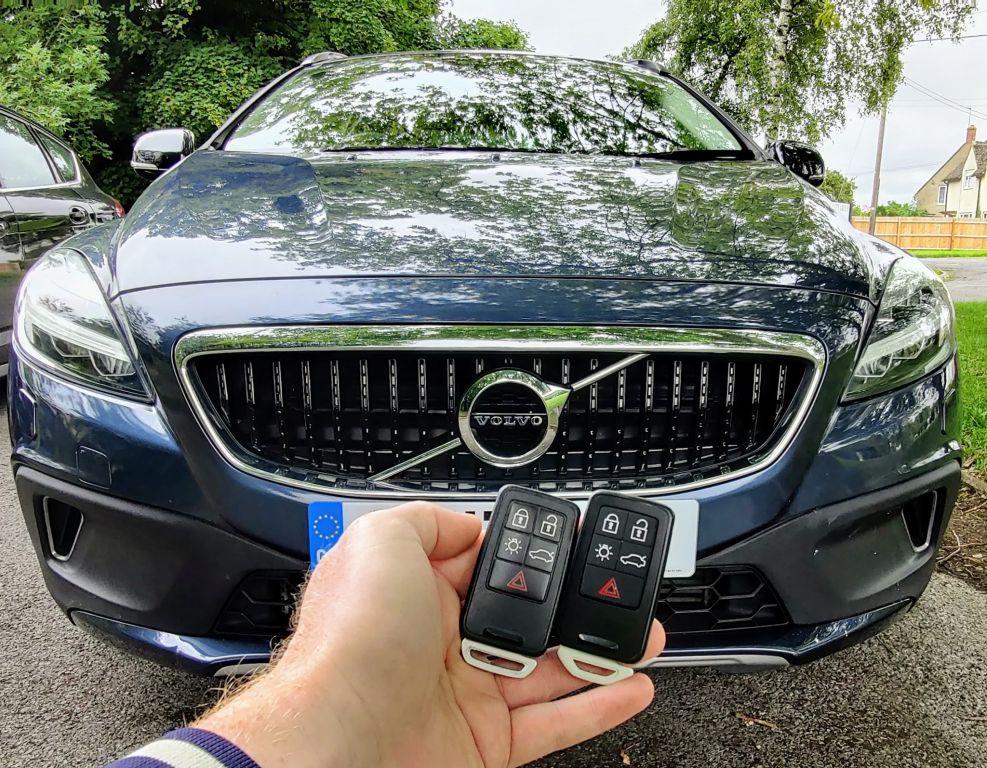 Volvo V40 2017 spare key.